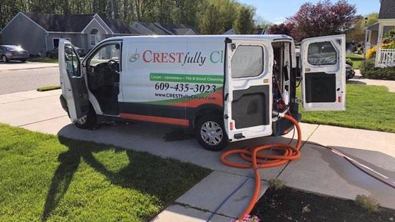 CRESTfully Clean van